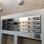 エントランスホールのメールボックス