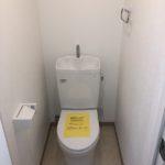 新品トイレ